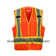 High Visibility Workwear Reflective Safety Vest Class 2 CSA