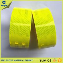 Película / Láminas Reflectantes Micro Prismáticas Fluorescentes Amarillas / Verdes de Alta Visibilidad