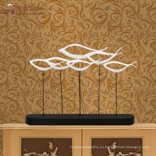 Новые продукты крытый украшения дома ремесел абстрактный смолы скульптура рыбы