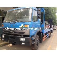 Dongfeng бортовой тягач для перевозки вилочных погрузчиков