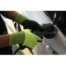 Cut Resistant Work Glove with Sandy Nitrile (ND8061)