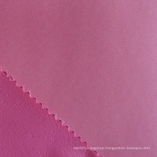 Polyester Foam Backing Satin Fabric
