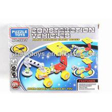 2013 venda quente DIY brinquedos carro de montagem