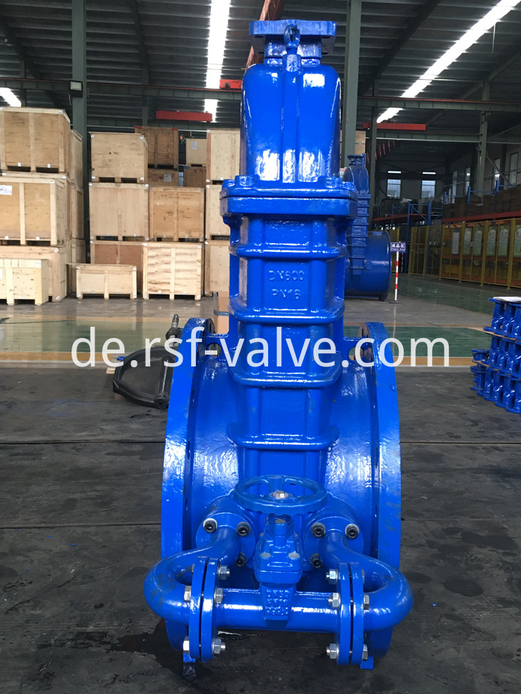 Gost Resilient Seat Gate Valve With Ea Adapter 1