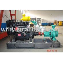 Pompe à eau diesel avec décharge 100-400m3 / h