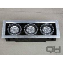 3*5*1w AR80 LED Bean Gallbladder lamp