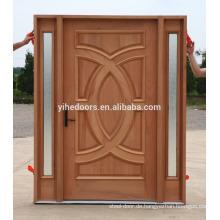 Villa Eingang Holz Design Malaysia Tür Option für Stahl Holz Tür