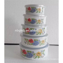 Porcelain Enameled Material and SGS Certification ice mixing bowl