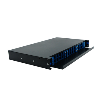 1U 19 pulgadas SC 24 puerto Patch Panel