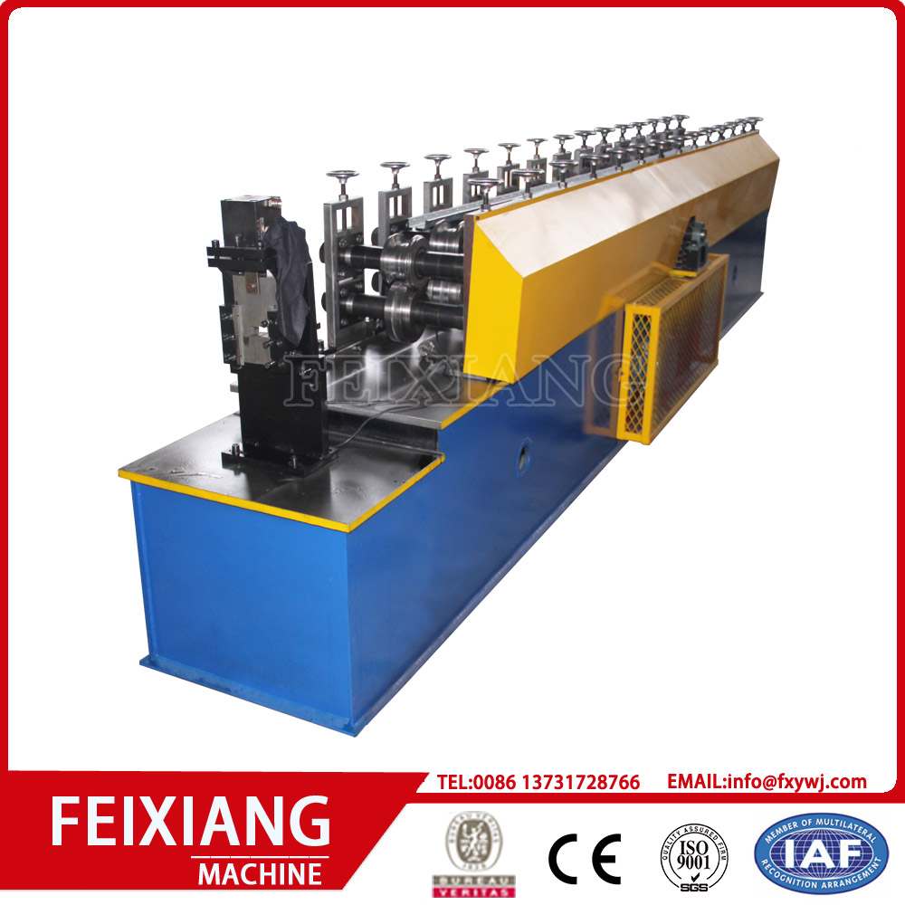 C stud and U track roll forming machine