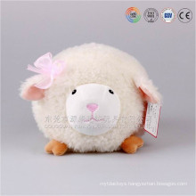Top selling new toys items plush round style animal lamb 2016 new products baby toy