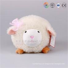 Top vendendo novos brinquedos itens de pelúcia rodada estilo animal cordeiro 2016 novos produtos do bebê brinquedo