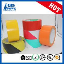 Doble Color cinta de PRECAUCIÓN Peligro de PVC