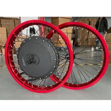 Colorful Rims QS 273 V3 5T high torque 72V8000W ebike conversion kit 8000w motorcycle hub motor