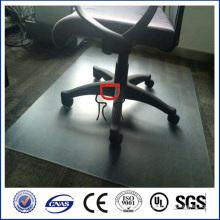 zhongding silla de oficina de policarbonato alfombra / estera de silla de policarbonato esmerilado