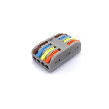 PCT-2-4 Cororful Conjoint Cage Spring Terminal Block