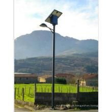 novo design de fácil instalar tudo em uma rua luz solar, esl-16 rua iluminação solar