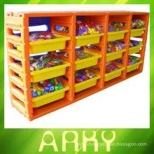 Kindergarten Plastic Shelf for Toy