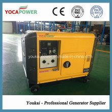 Воздухоохлаждаемый дизель-генераторный агрегат 5kVA с звукоизоляцией