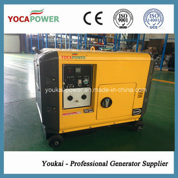 Powerful 186 Diesel Engine Air Cooled Generator with Soundproof