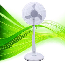 """16"""" AC & DC automatic conversion led fan, rechargeable standing fan, china rechargeable fan"""