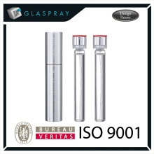 15ml SOLE Slim CNC Brushed SilverTwist up Refill Perfume Packaging