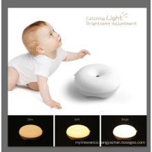 Automatically Induction Sensor LED light Baby Bedside Night Light with different colors