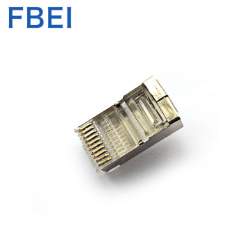 RJ50 10-pens connector 10P10C connector, 10-pins STP-connector, plug gold planting 3U