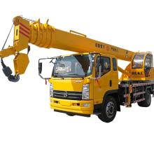 Grúa móvil pequeña del camión de la venta 8 toneladas