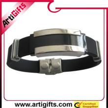 Accesorios de pulsera de metal estilo níquel plateado