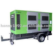 Generadores diesel movibles 15kva-500kva 50Hz 1500RPM