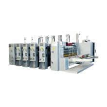 corrugated carton flexo printing slotting die-cutting machine
