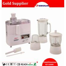 4 in 1 Mult Function Food Processor Include: Juicer, Blender, Grinder, Mincer