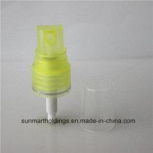 18410 Yellow Perfume Fine Mist Spray Pump with PP Cap