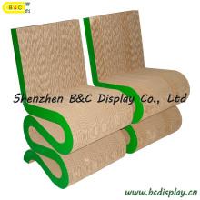 """S"" Paper Stool / Cardboard Chairs (B&C-F013)"