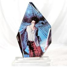 Cristal cristalino caliente de la prensa del calor de la sublimación cristalina de la estampación caliente del precio bajo
