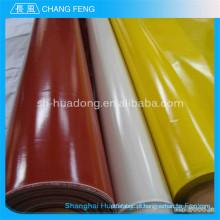 Resistente a produtos químicos Silicone de isolação elétrica revestida a tecido de fibra de vidro