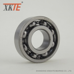 J Steel Cage 6204 Bearing For Coal Conveyor