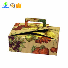 cake box design finestra con maniglia