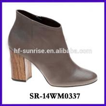 2014 ladies high heel shoe woman boot