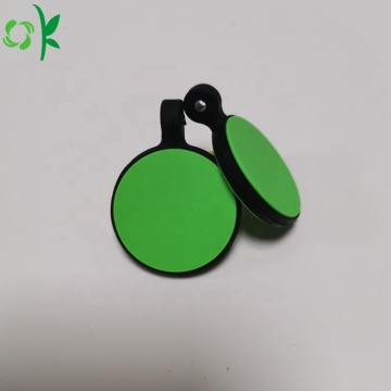 Custom Design Logo Silicone Dog ID Tag