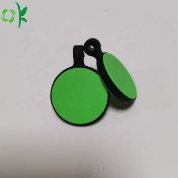 Индивидуальный дизайн логотипа силиконовой идентификационной бирки собаки
