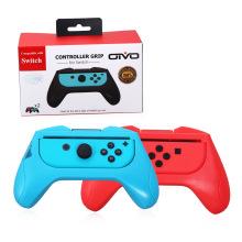 Controle Manípulo Grip Joy-Con esquerda + Suporte do suporte da mão direita para Nintend Switch NS Controller Gaming