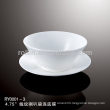 healthy special durable white porcelain chinese cups