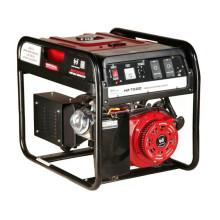 Générateur d'alternateur portatif à la maison 5kw 220V, groupe électrogène de moteur à essence