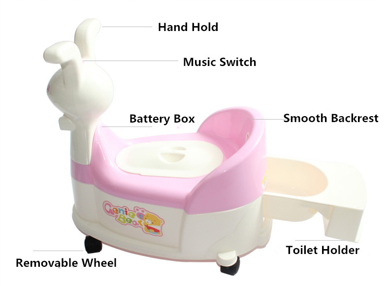 Potty with Wheel