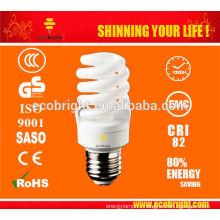 Новые функции! T2 23W полный спиральные энергосберегающие лампы трубки 8000H CE качества