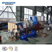 Advanced 5 Tons containerized brine refrigeration block ice machine with hot sale