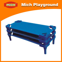 Mich Plastic Kid's School Bed para jardim de infância (1213C)