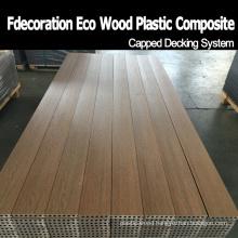 Long Lifetime Fireproof Outdoor Flooring Composite WPC Decking